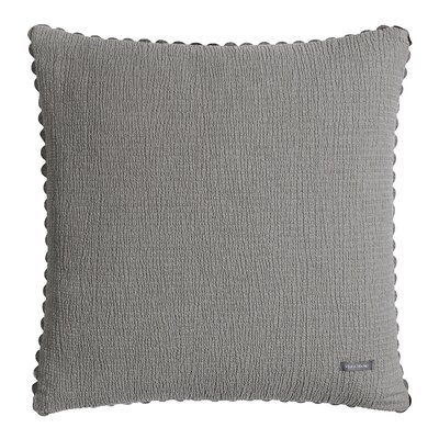 Throw Pillow Color: Soft Charcoal