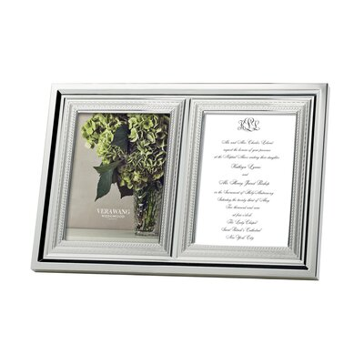 With Love Double Picture Frame -  Vera Wang, 091574111827