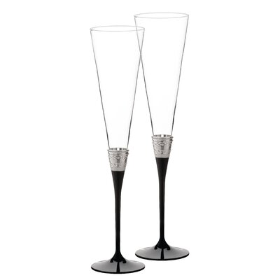 With Love Noir Champagne Flute -  Vera Wang, 091574210445
