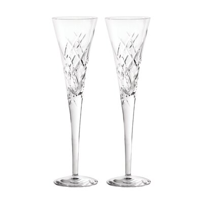 Duchesse Encore Toasting Champagne Flute Glass Color: Clear 091574172316