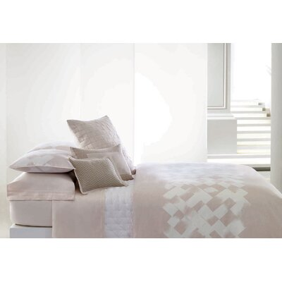 Basketweave Texture 5 Piece Duvet Set Size: Queen