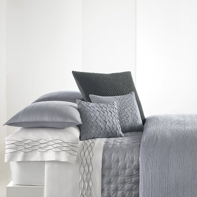 Corrugated Texture 8 Piece Duvet Cover Set Size: Queen