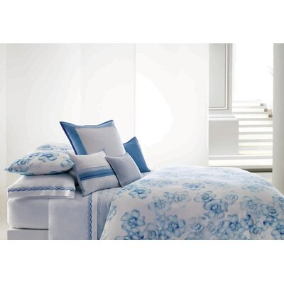 Chiffon Flower 6 Piece King Duvet Set