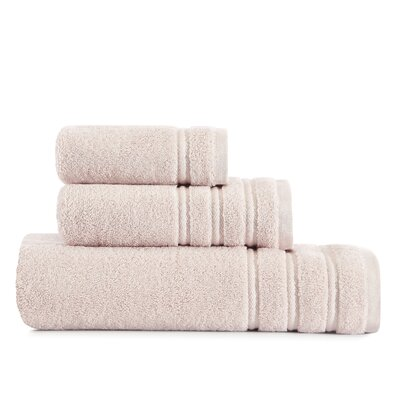 Twill Stripe Bath 3 Piece Towel Set