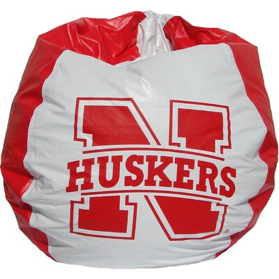 Bean Bag Chair NCAA Team: Nebraska