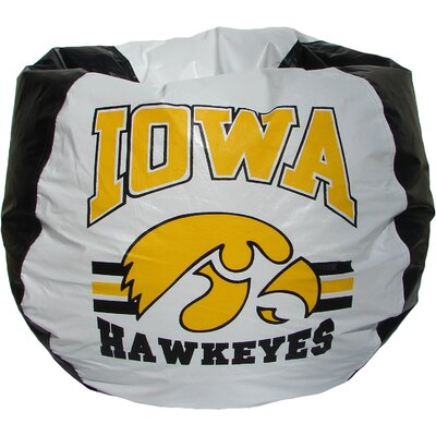 Bean Bag Chair NCAA Team: Iowa