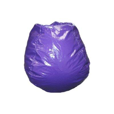 Bean Bag Chair Upholstery: Grape