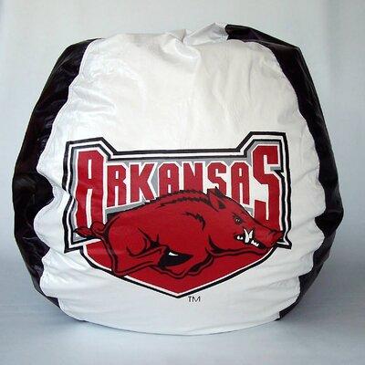 Bean Bag Boys Bean Bag Chair - NCAA Team: Arkansas