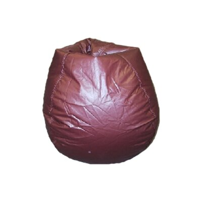 Bean Bag Chair Upholstery: Burgundy
