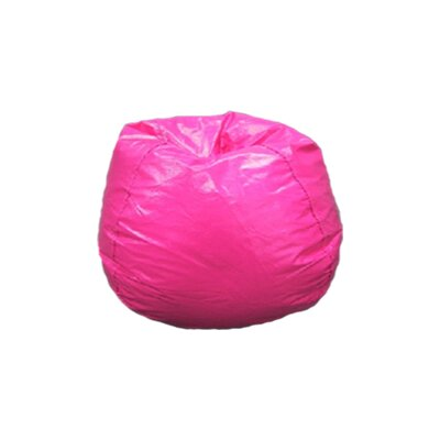 Bean Bag Chair Upholstery: Magenta