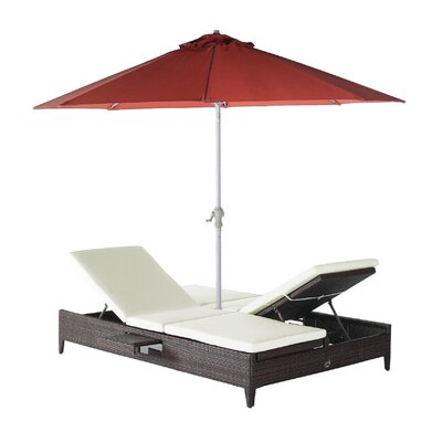 Popular Double Chaise Lounge Product Photo