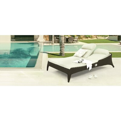 Remarkable Reclining Double Chaise Lounge Product Photo