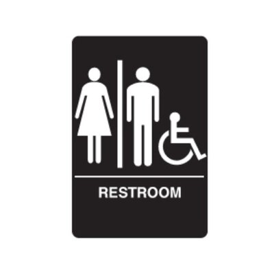 Handicapped Restroom Sign