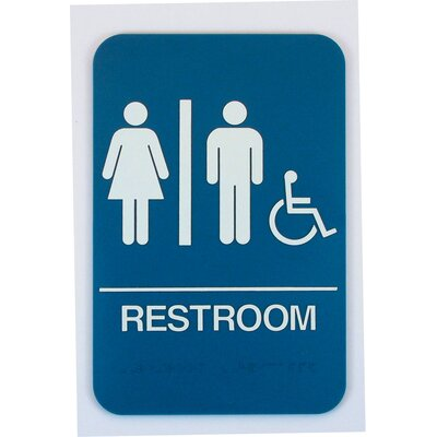 Restroom Handicap Sign