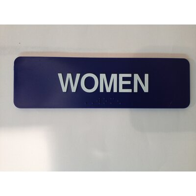 Womens Sign (Set of 2)