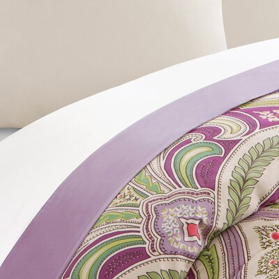 Vineyard Paisley 230 Thread Count 100% Cotton Sheet Set Size: King