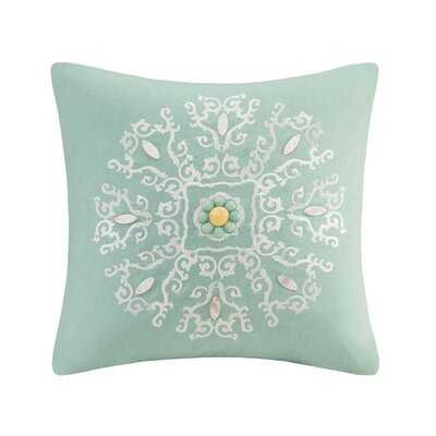 Indira Square Cotton Throw Pillow