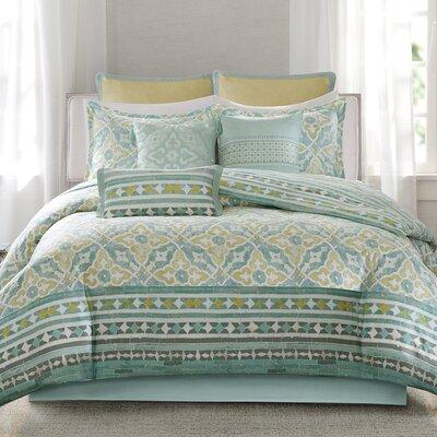 Lagos Reversible Comforter Set Size: California King