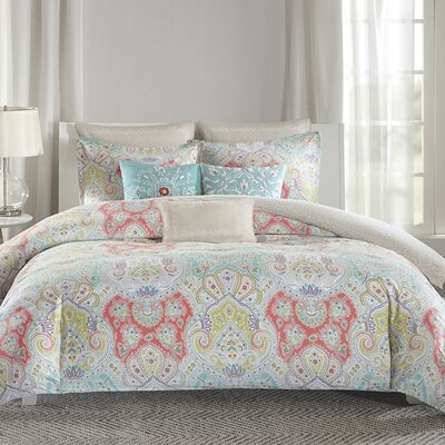 Cyprus Duvet Cover Set Size: Full/Queen