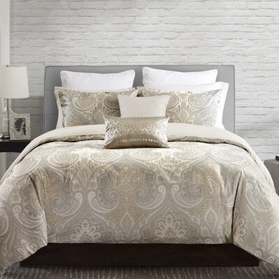Juneau Duvet Cover Set Size: Full / Queen