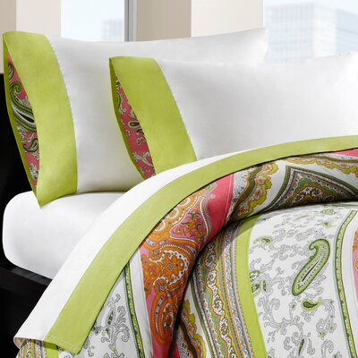 Gramercy Paisley 230 Thread Count Sheet Set Size: Full