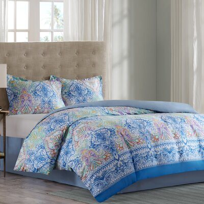 Paisley Comforter Set Size: California King