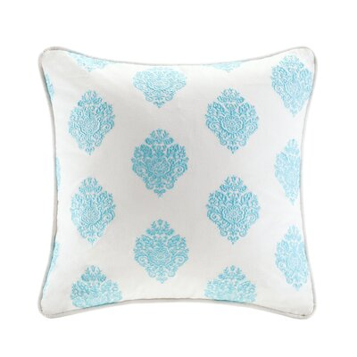 Paisley Cotton Throw Pillow