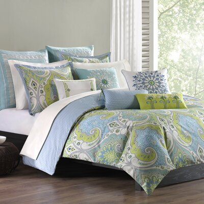Sadinia Duvet Cover Set Size: Full / Queen