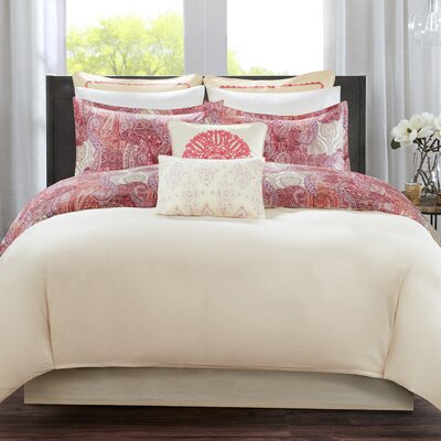 Florentina 2 Piece Reversible Quilt Set Size: Queen