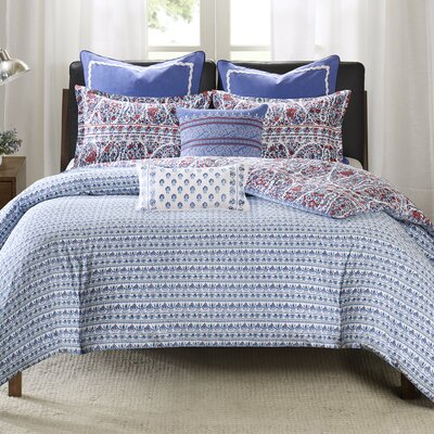 Woodstock Duvet Cover Set Size: King