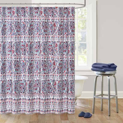Woodstock Cotton Shower Curtain