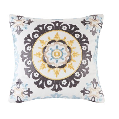 Ibiza Embroidery Cotton Throw Pillow