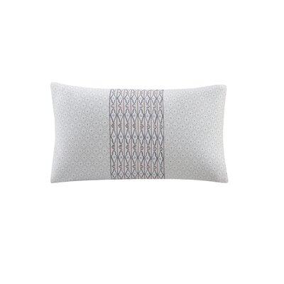 Avalon Embroidered 100% Cotton Throw Pillow