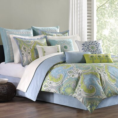 Sardinia 4 Piece Comforter Set Size: Queen