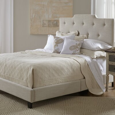 All-N-One Queen Upholstered Panel Headboard