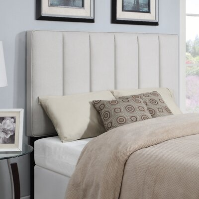 Pettiford Upholstered Panel Headboard Size: King /  California King, Upholstery: Trespass Nature