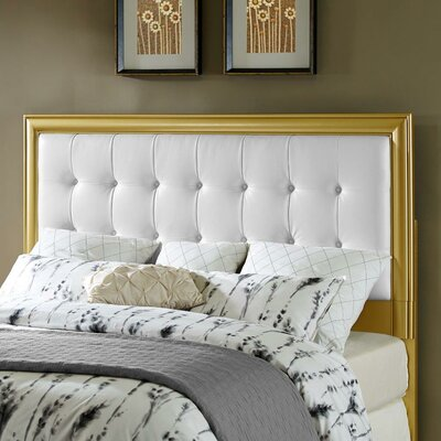 Upholstered Panel Headboard Size: Full / Queen