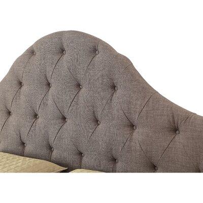 King Upholstered Panel Headboard Upholstery: Softex Slate