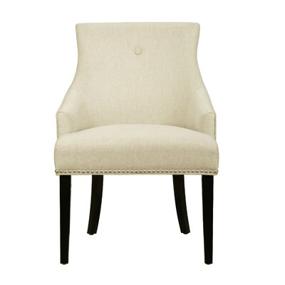 Hickerson Button Back Arm Chair