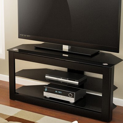Maxine 40-55 TV Stand Width of TV Stand: 22 H x 40 W x 19 D