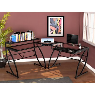 Chandler Glass L Desk M10008