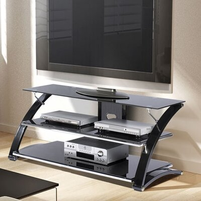 Rielan 55-67 TV Stand Width of TV Stand: 23 H x 55 W x 24 D