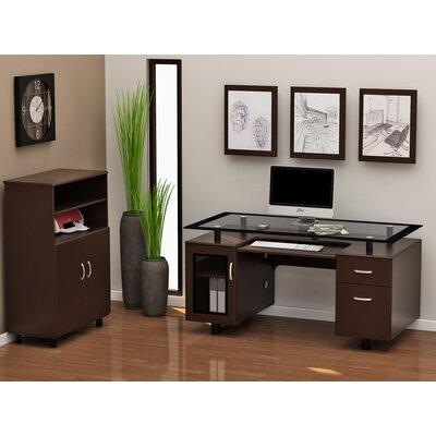 Ayden 2-Piece Standard Desk Office Suite ZL712-01ED
