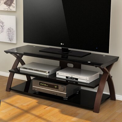 Willow 55-67 TV Stand Width of TV Stand: 22 H x 67 W x 19.63 D