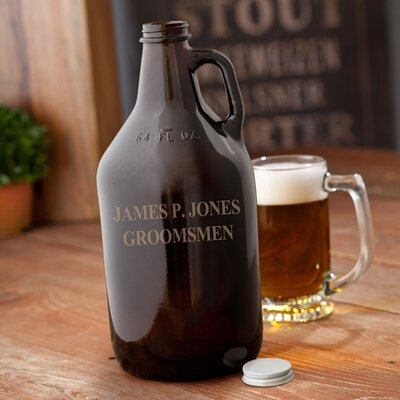 Personalized Gift Growler