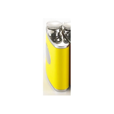 Personalized Gift Flask Color: Yellow