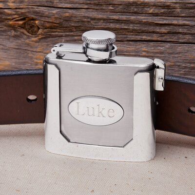 Belt Buckled Flask GC1219