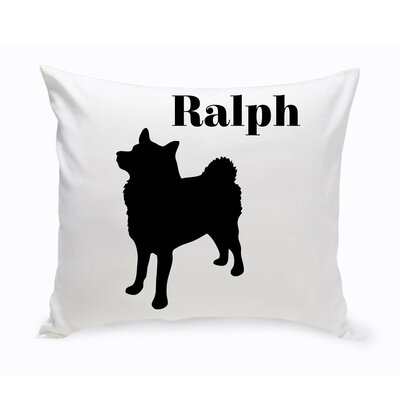 Personalized Eskimo Classic Silhouette Throw Pillow