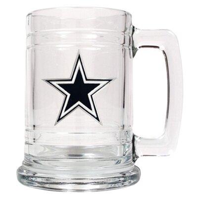 NFL 14 oz. Beer Mug NFL Team: Dallas Cowboys +Cowboys