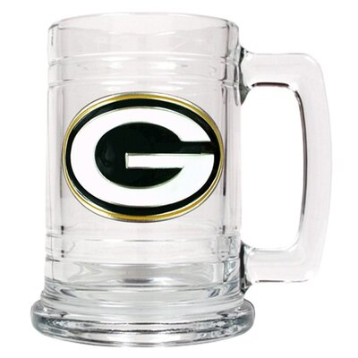 NFL 14 oz. Beer Mug NFL Team: Green Bay Packers GC1487+Packers